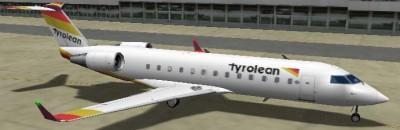 Canadair CRJ 100 Tyrolean 650