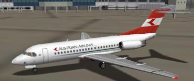Fokker 70 Austrian Airlines